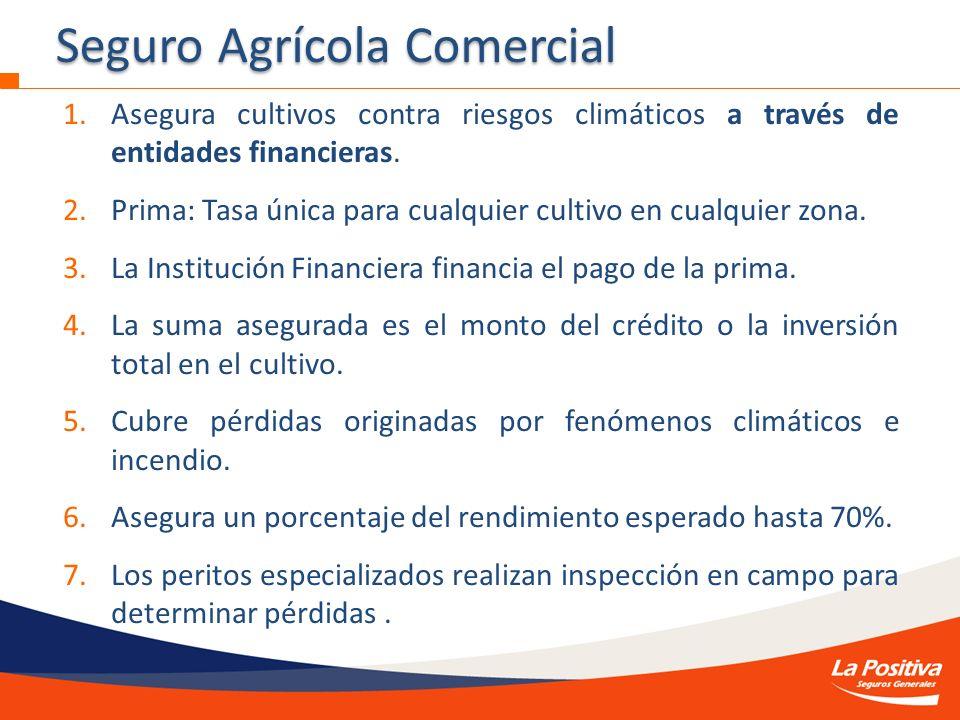 Seguro Agrícola Comercial