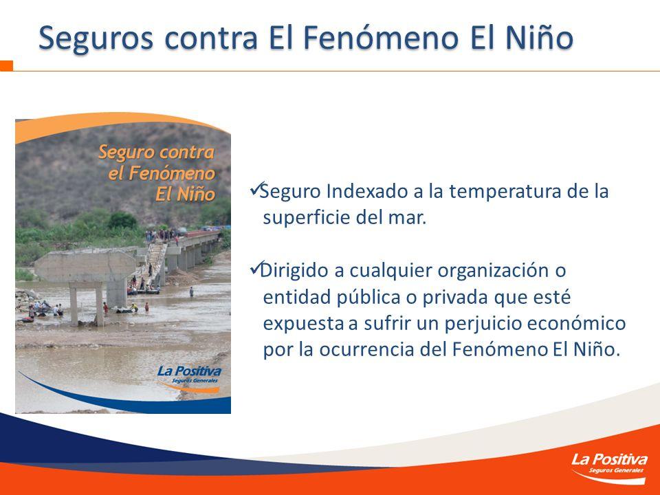Seguros contra El Fenómeno El Niño