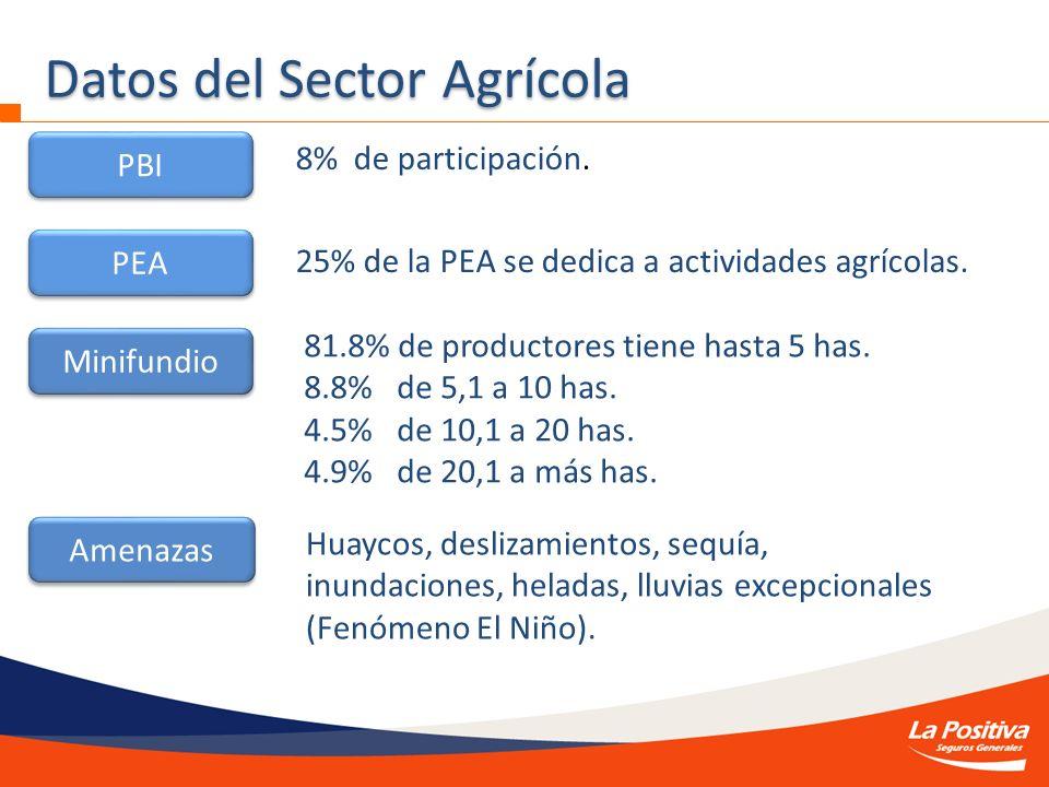Datos del Sector Agrícola