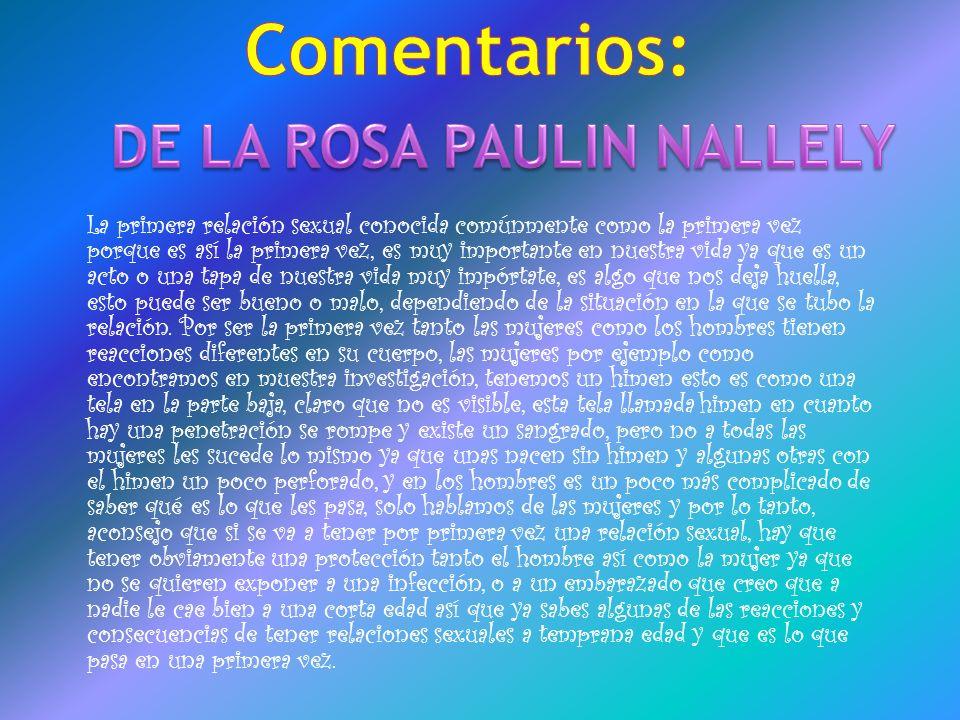 DE LA ROSA PAULIN NALLELY