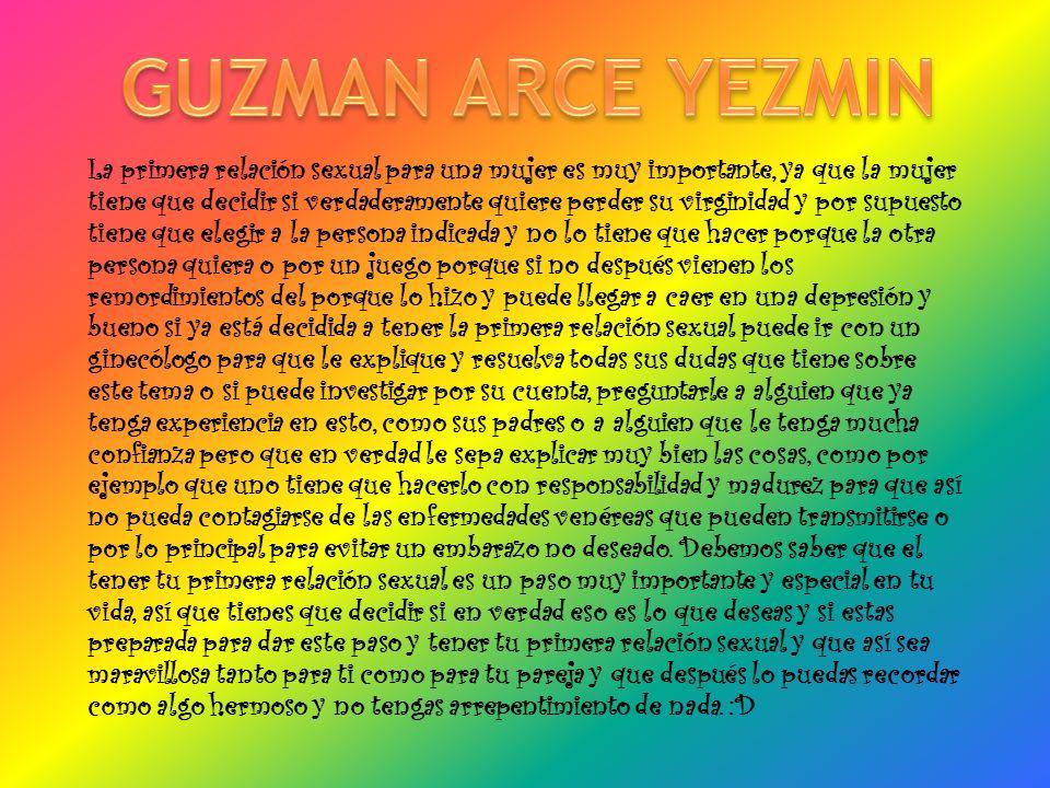 GUZMAN ARCE YEZMIN