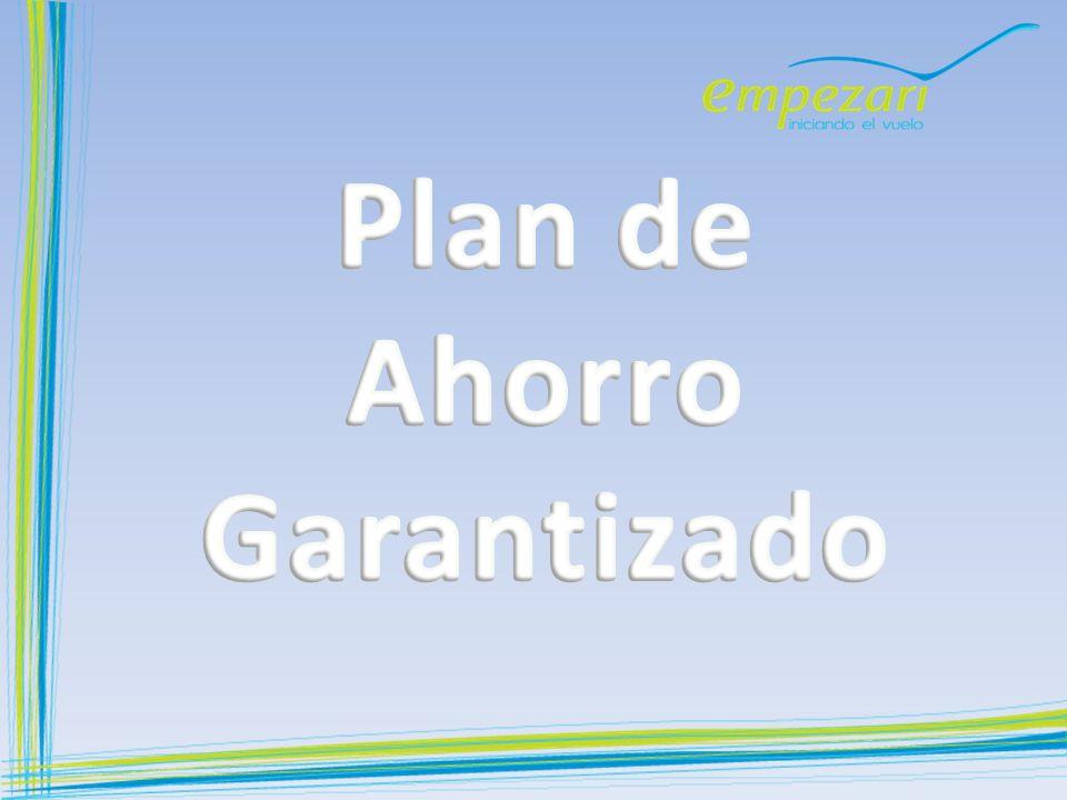 Plan de Ahorro Garantizado
