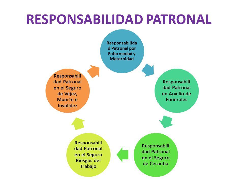 RESPONSABILIDAD PATRONAL