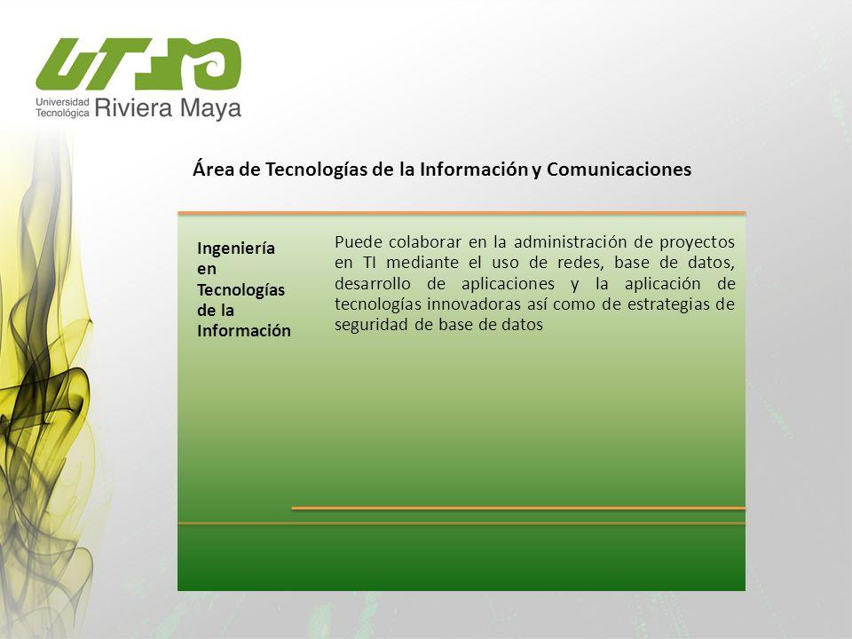 Área de Tecnologías de la Información y Comunicaciones