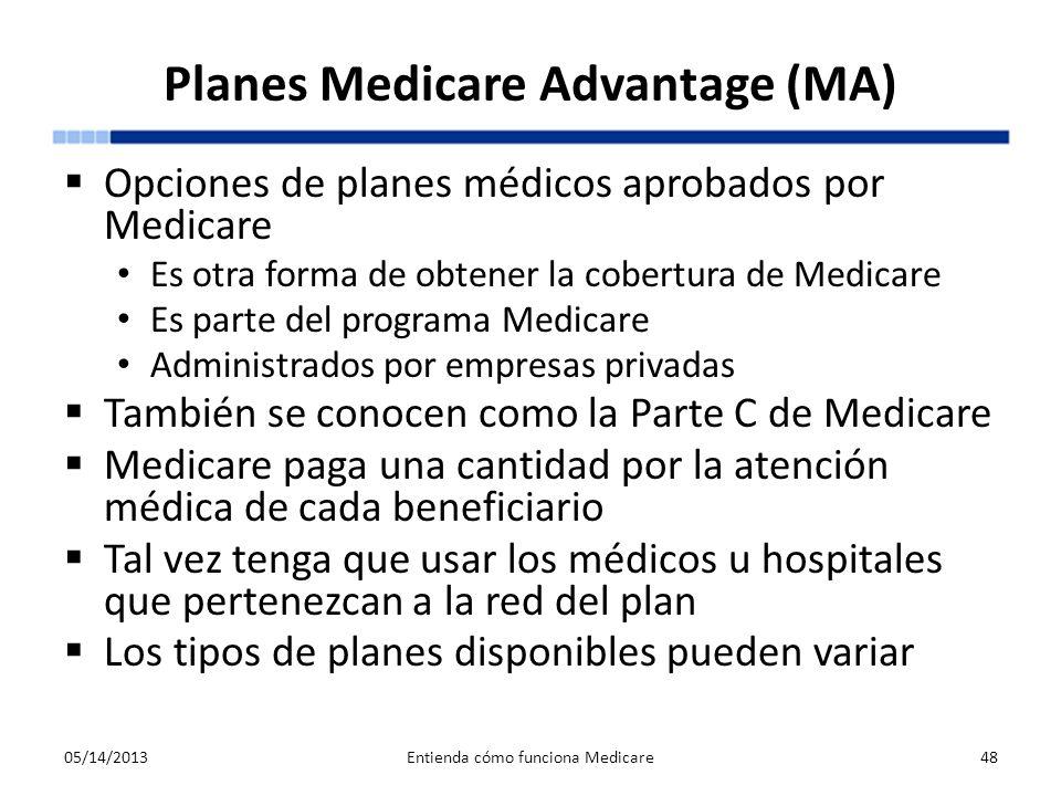 Planes Medicare Advantage (MA)
