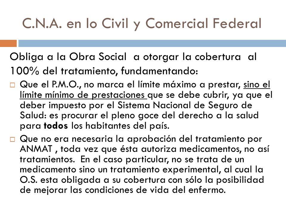 C.N.A. en lo Civil y Comercial Federal