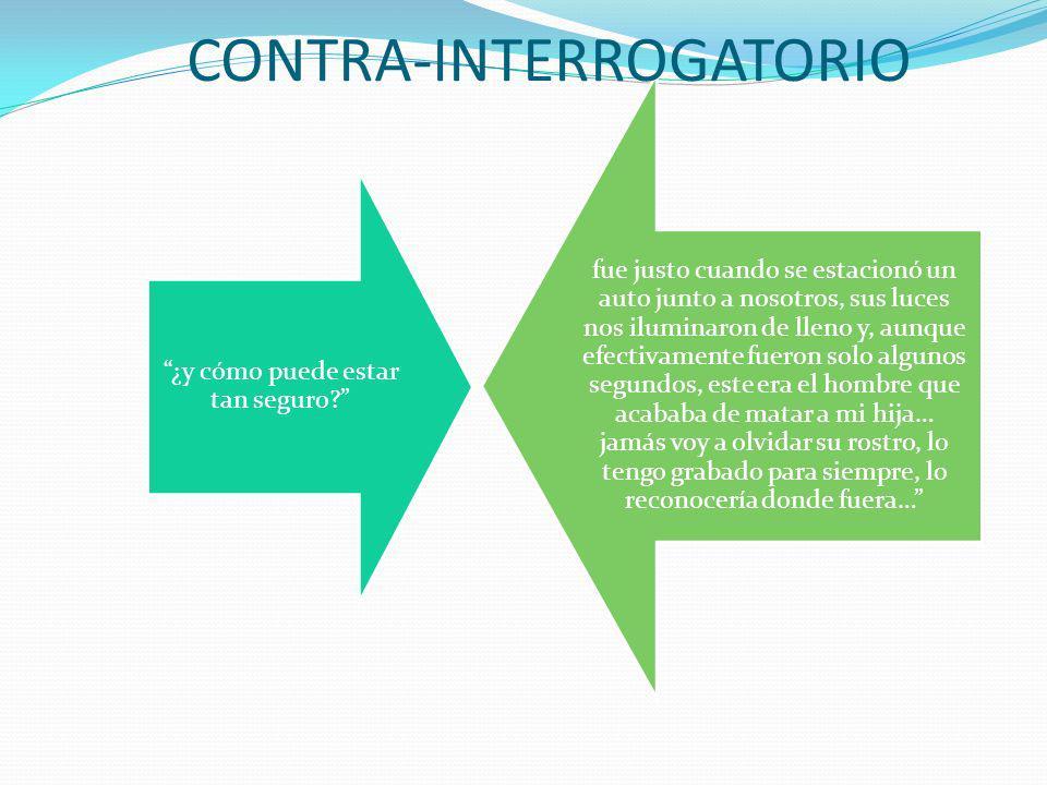CONTRA-INTERROGATORIO