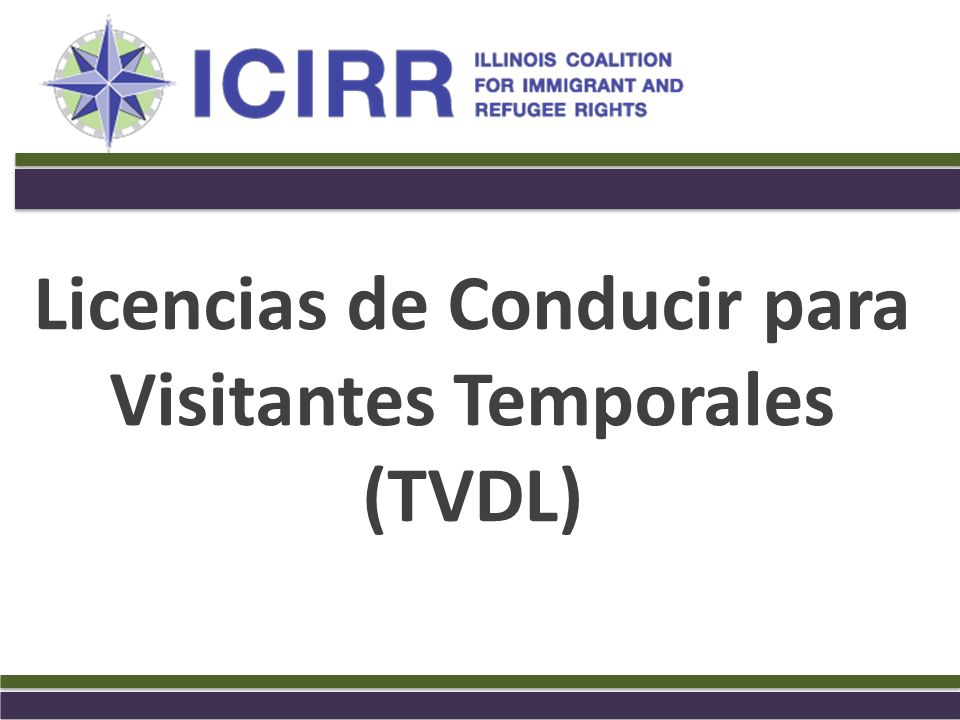 Licencias de Conducir para Visitantes Temporales (TVDL) - ppt video ...