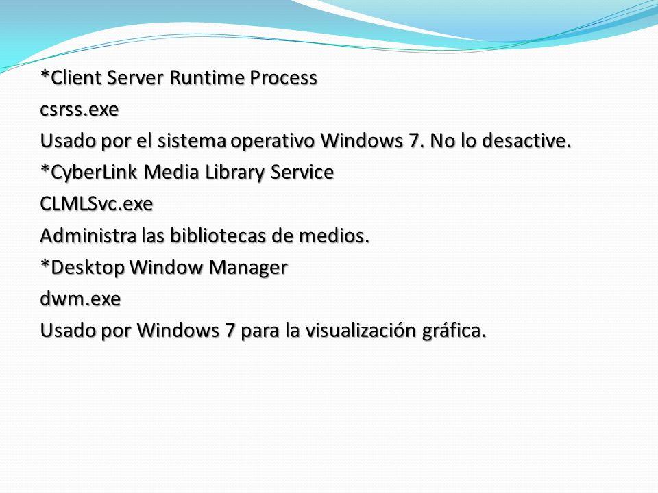 Client Server Runtime Process csrss