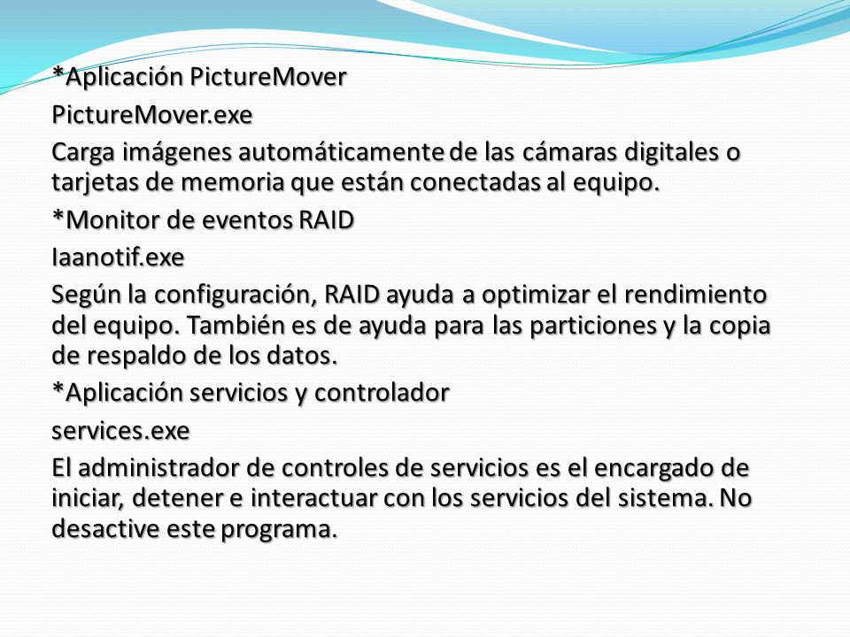 *Aplicación PictureMover
