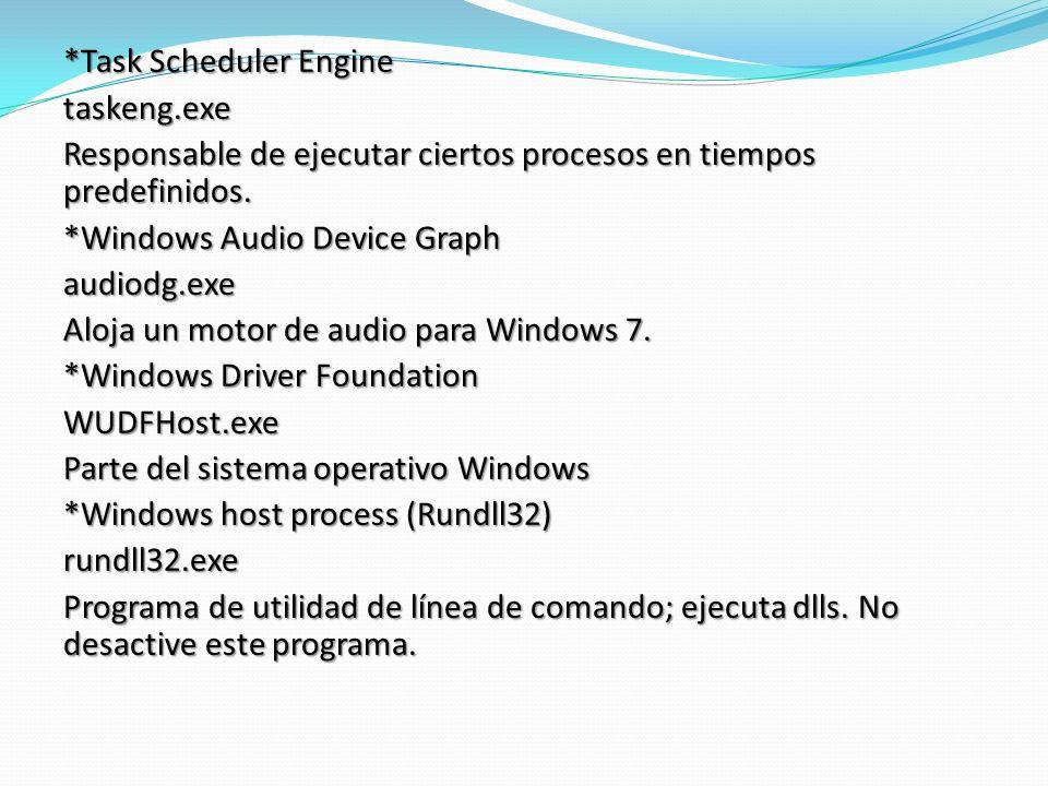 *Task Scheduler Engine