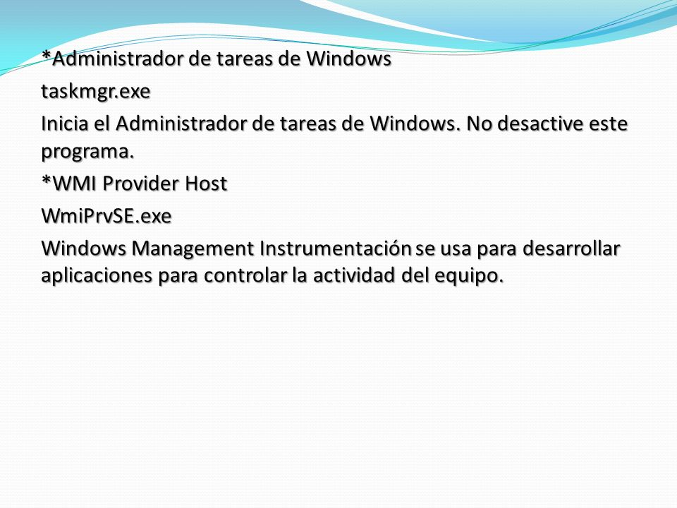 *Administrador de tareas de Windows