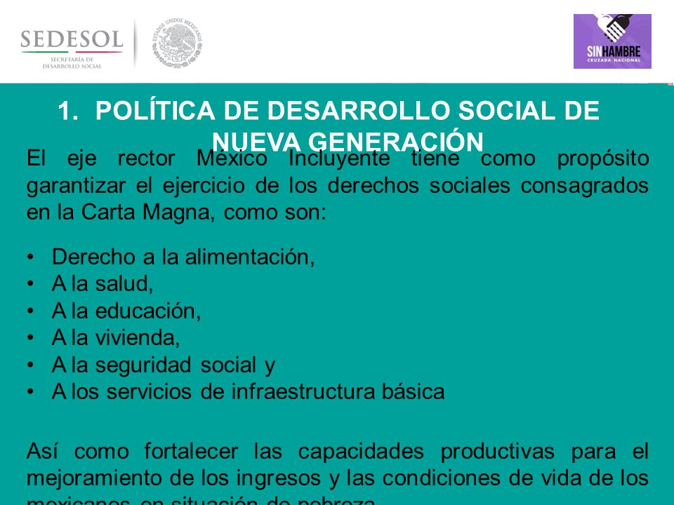 Política de Desarrollo Social de Nueva Generación