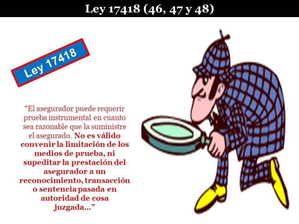 Ley 17418 (46, 47 y 48) Ley 17418.