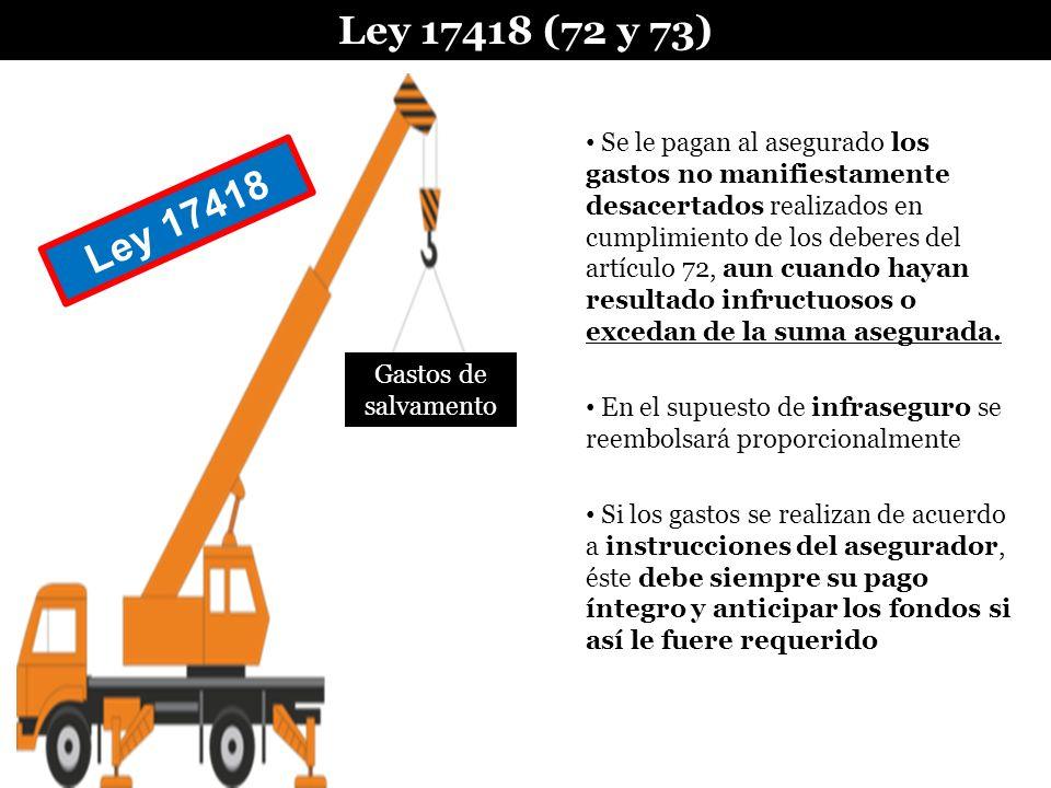 Ley 17418 (72 y 73)