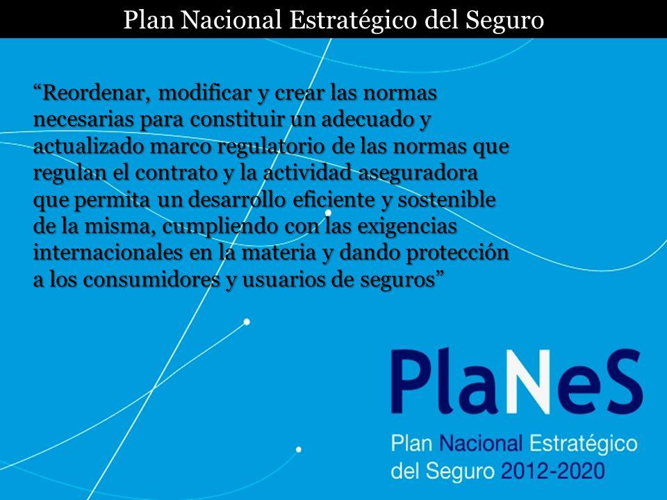 Plan Nacional Estratégico del Seguro