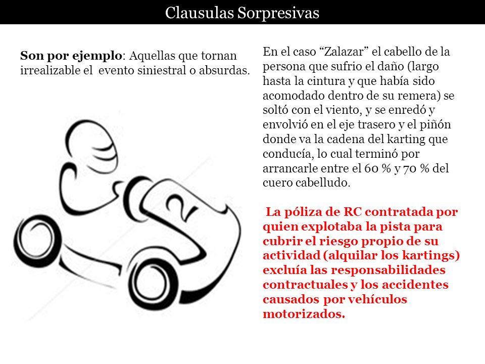 Clausulas Sorpresivas