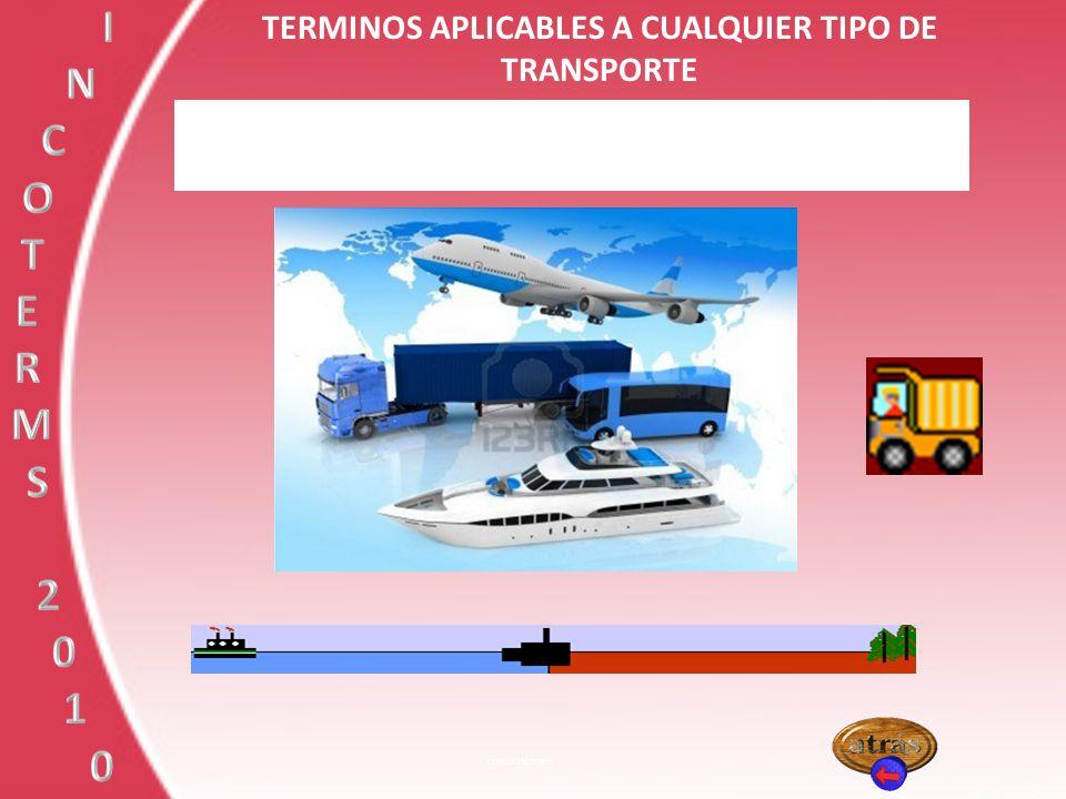 TERMINOS APLICABLES A CUALQUIER TIPO DE TRANSPORTE