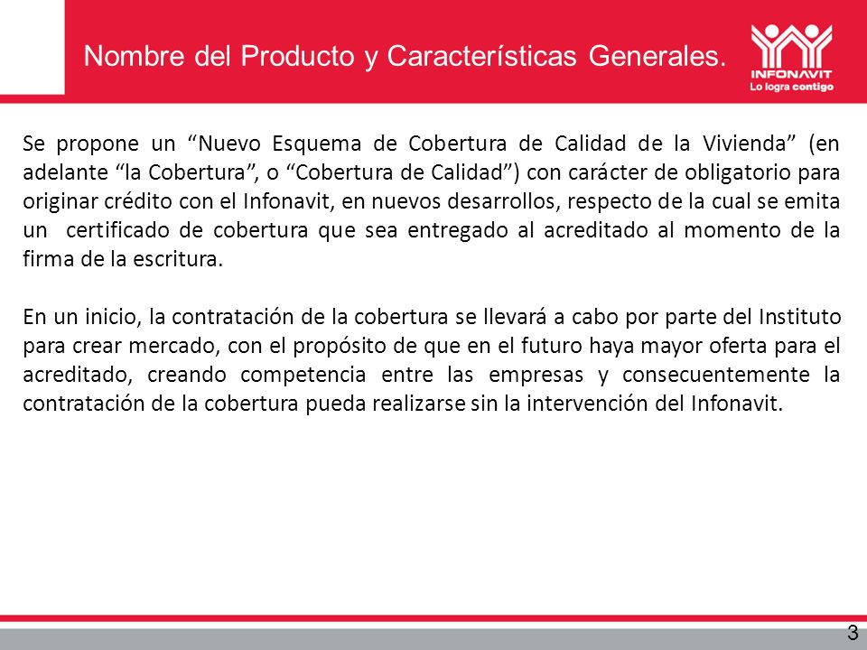 Nombre del Producto y Características Generales.