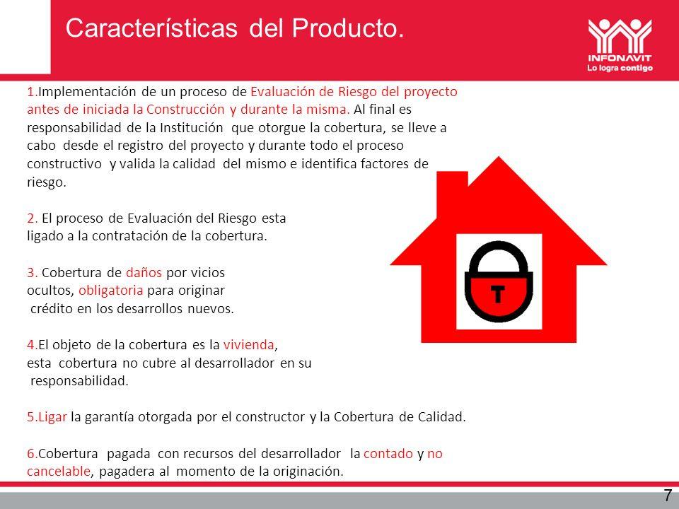 Características del Producto.