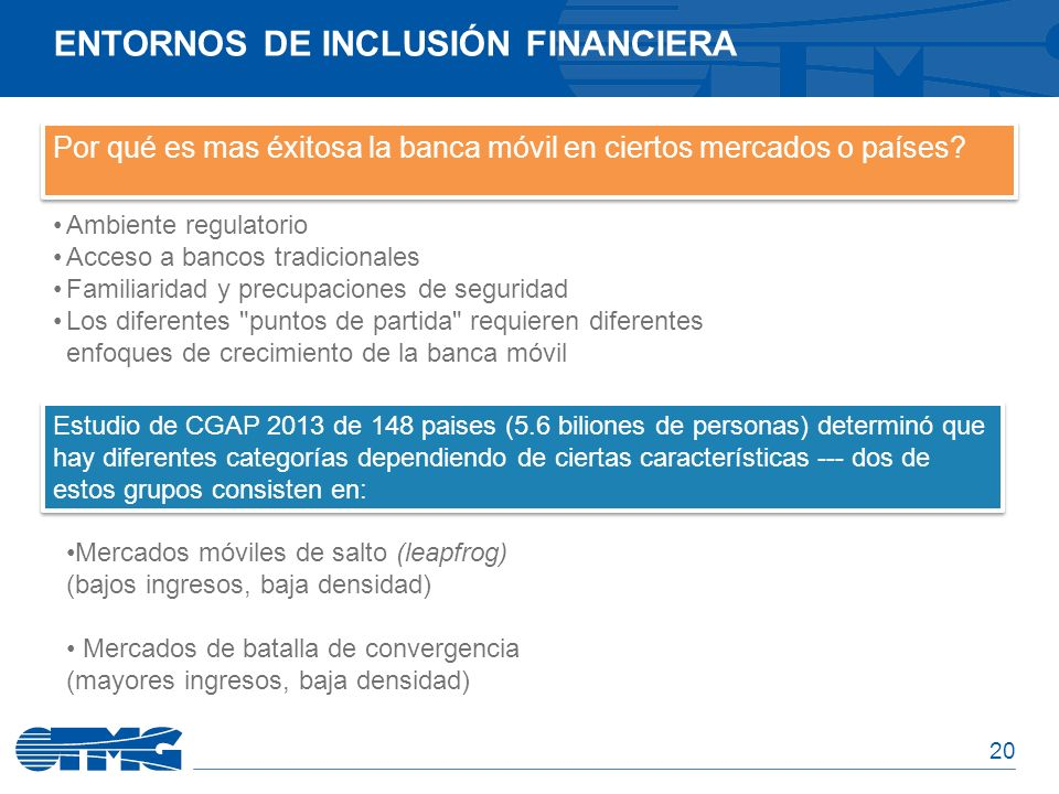 Entornos de Inclusión Financiera