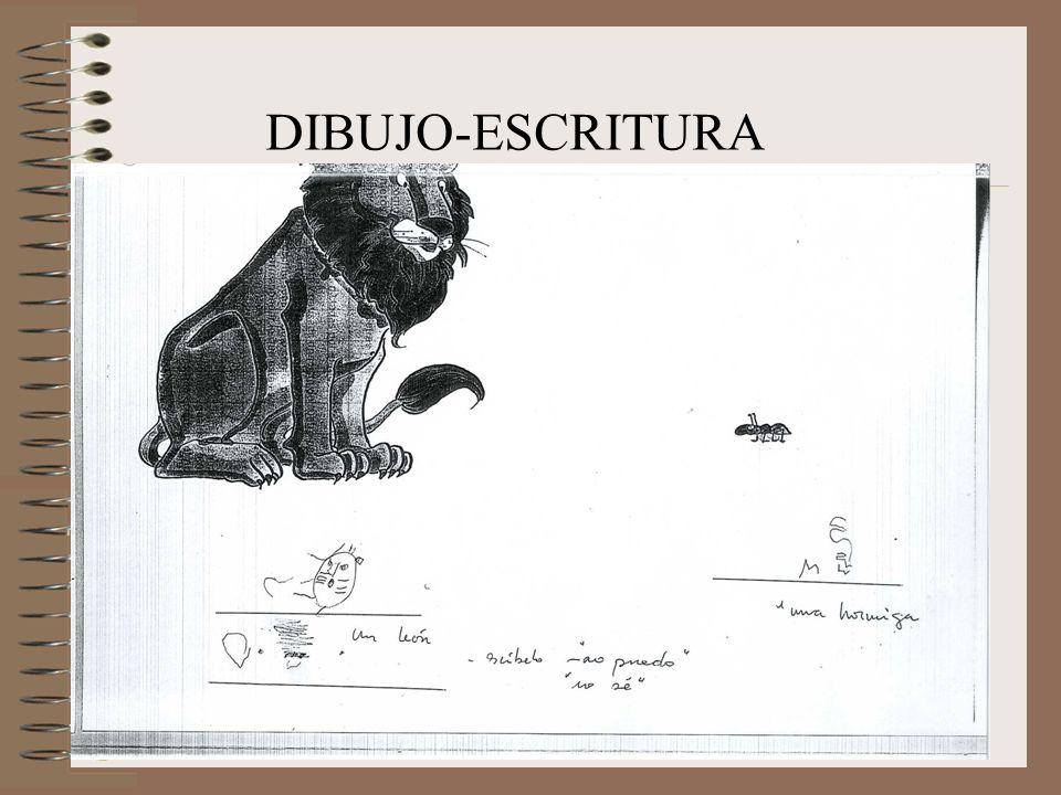 DIBUJO-ESCRITURA
