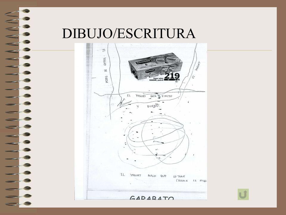 DIBUJO/ESCRITURA