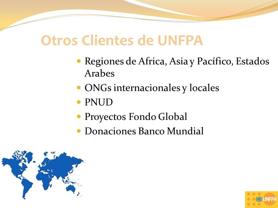 Otros Clientes de UNFPA
