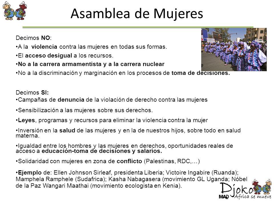 Asamblea de Mujeres Decimos NO: