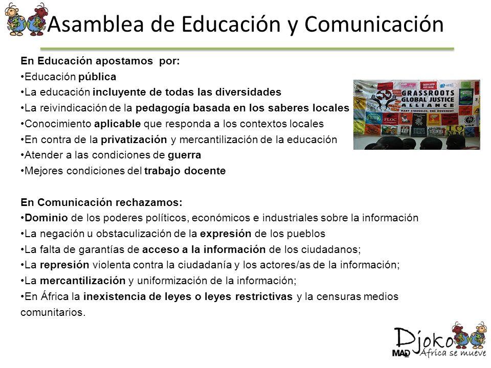 Asamblea de Educación y Comunicación