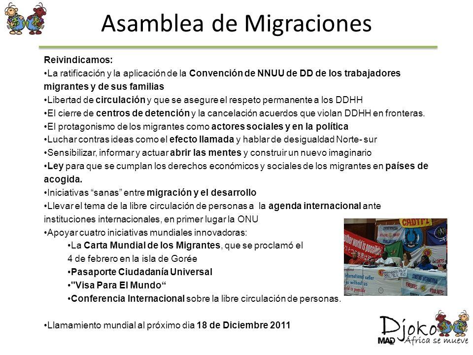 Asamblea de Migraciones