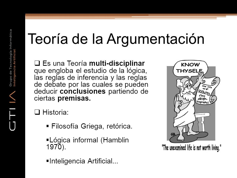 Teoría de la Argumentación