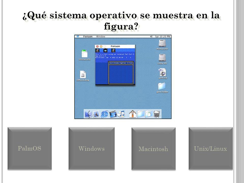 ¿Qué sistema operativo se muestra en la figura