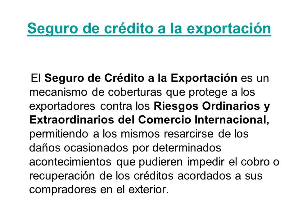 Seguro de crédito a la exportación