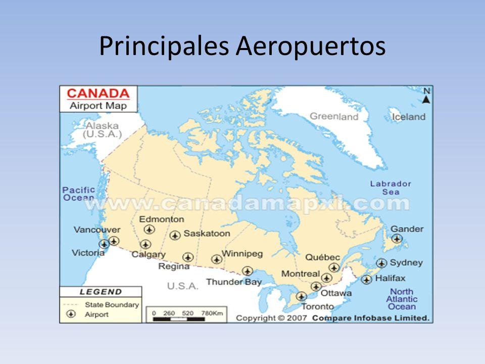 Principales Aeropuertos