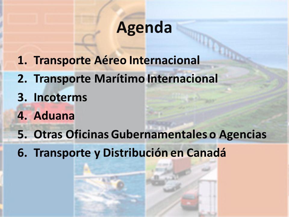 Agenda Transporte Aéreo Internacional