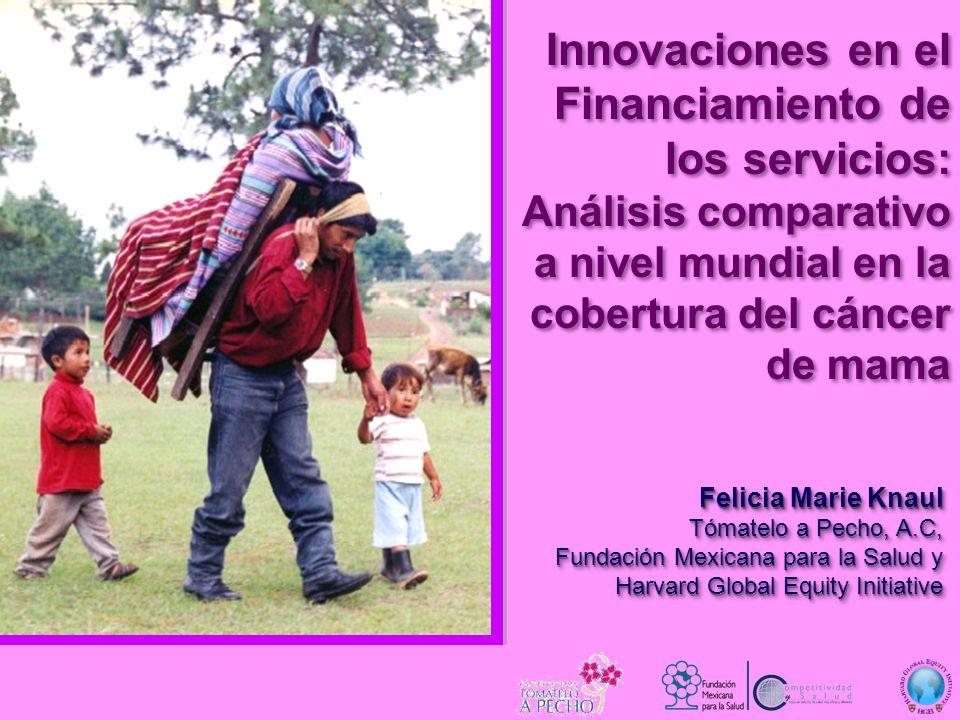 Innovaciones en el Financiamiento de los servicios: Análisis comparativo a nivel mundial en la cobertura del cáncer de mama