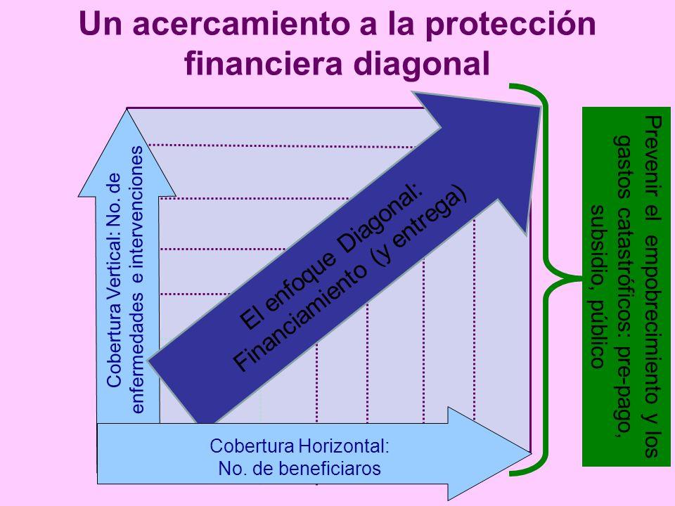 Un acercamiento a la protección financiera diagonal