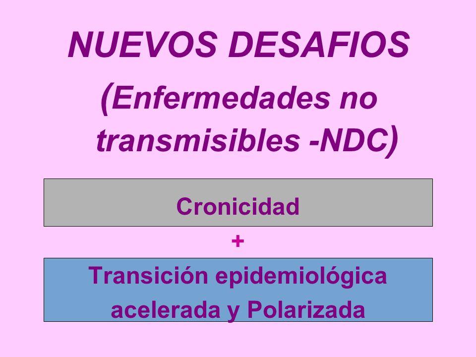 NUEVOS DESAFIOS (Enfermedades no transmisibles -NDC)