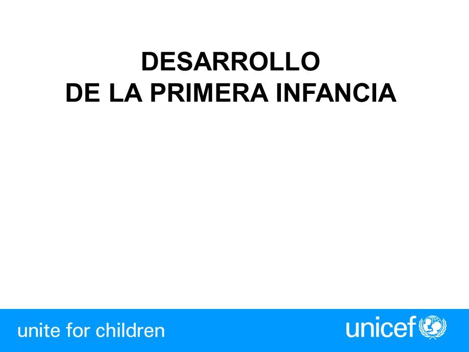 DESARROLLO DE LA PRIMERA INFANCIA