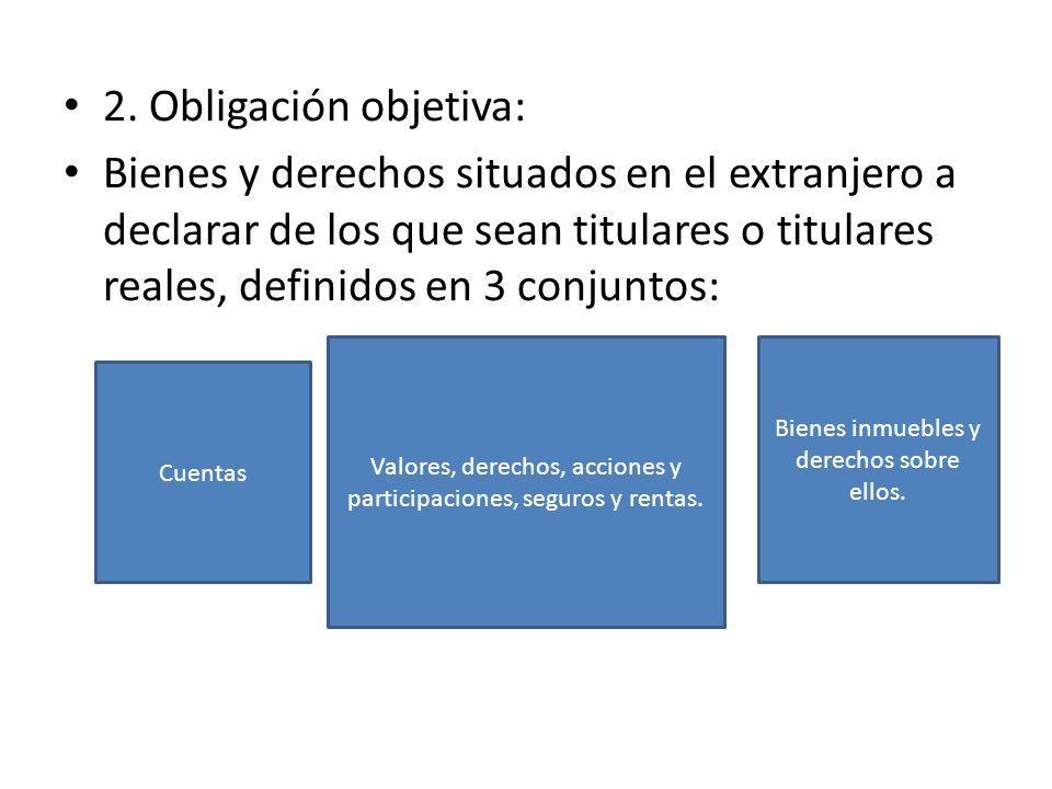 2. Obligación objetiva: