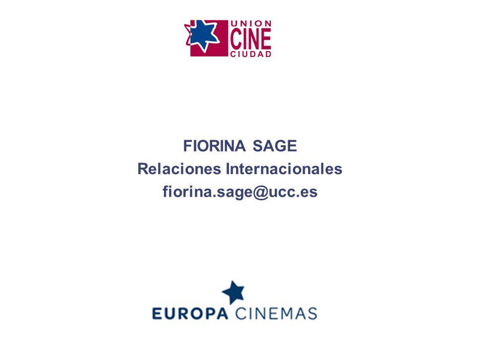 FIORINA SAGE Relaciones Internacionales fiorina.sage@ucc.es