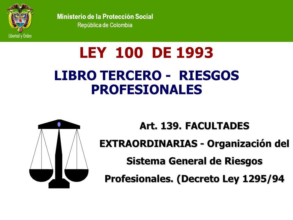 LIBRO TERCERO - RIESGOS PROFESIONALES