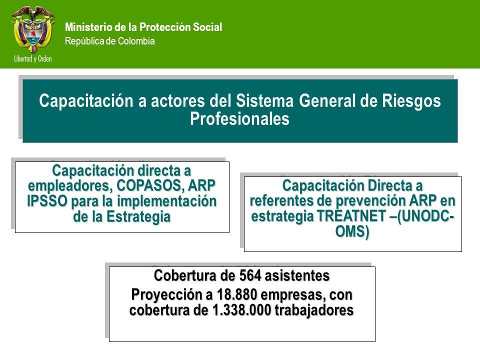 Capacitación a actores del Sistema General de Riesgos Profesionales