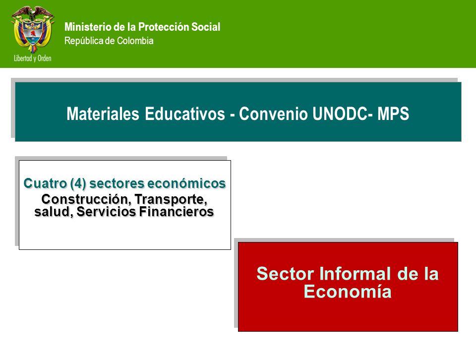 PREVENCIÓN Materiales Educativos - Convenio UNODC- MPS