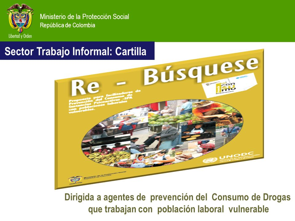 Sector Trabajo Informal: Cartilla