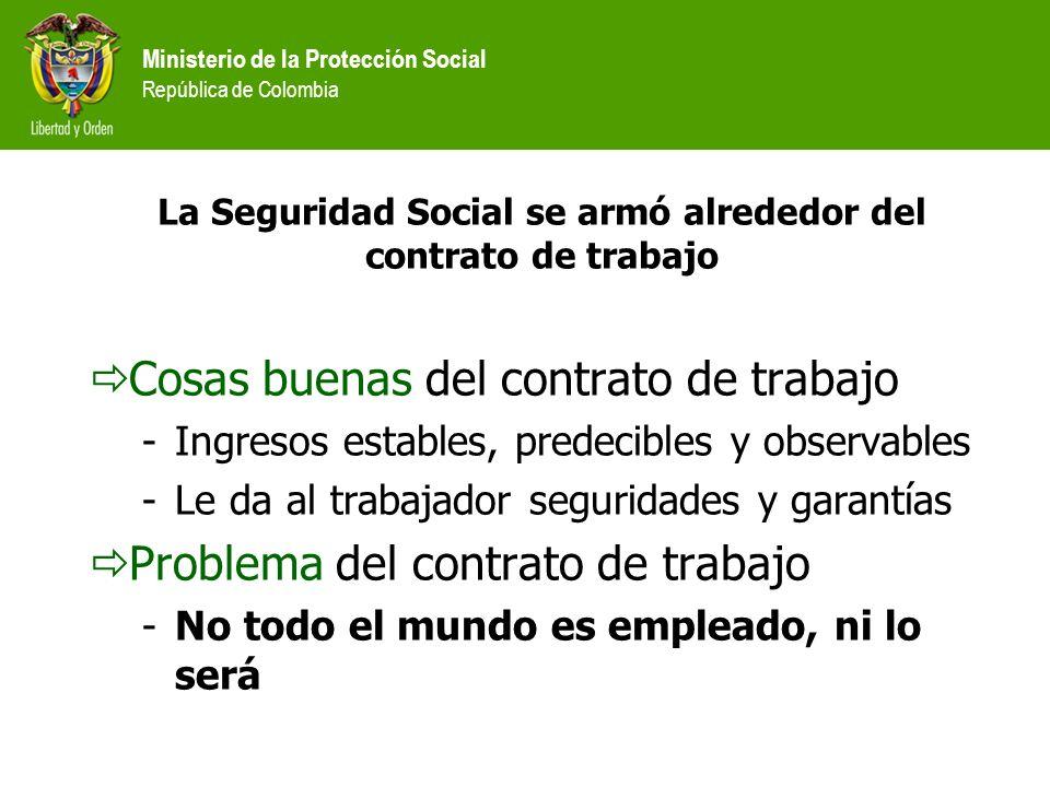 La Seguridad Social se armó alrededor del contrato de trabajo