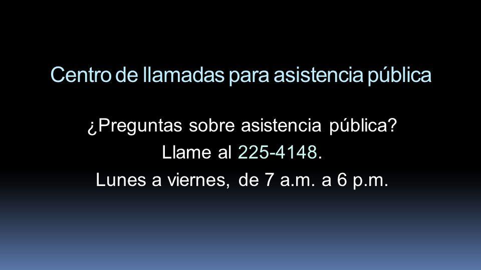 Centro de llamadas para asistencia pública