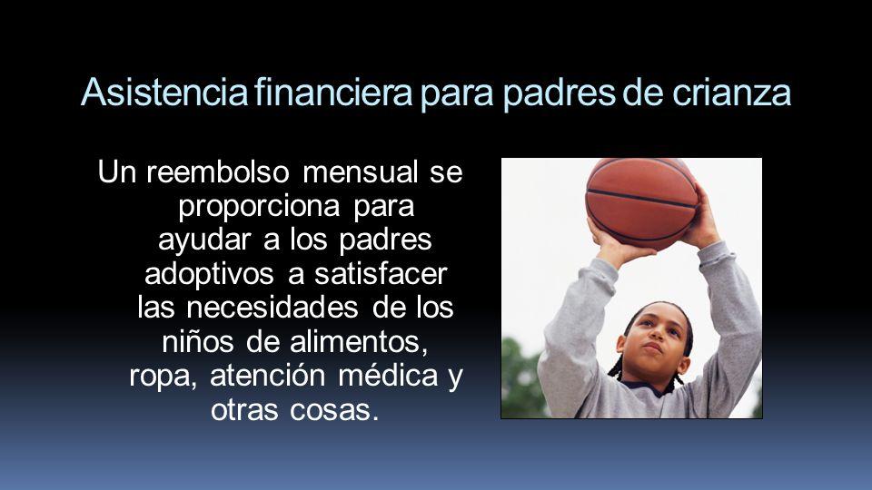 Asistencia financiera para padres de crianza