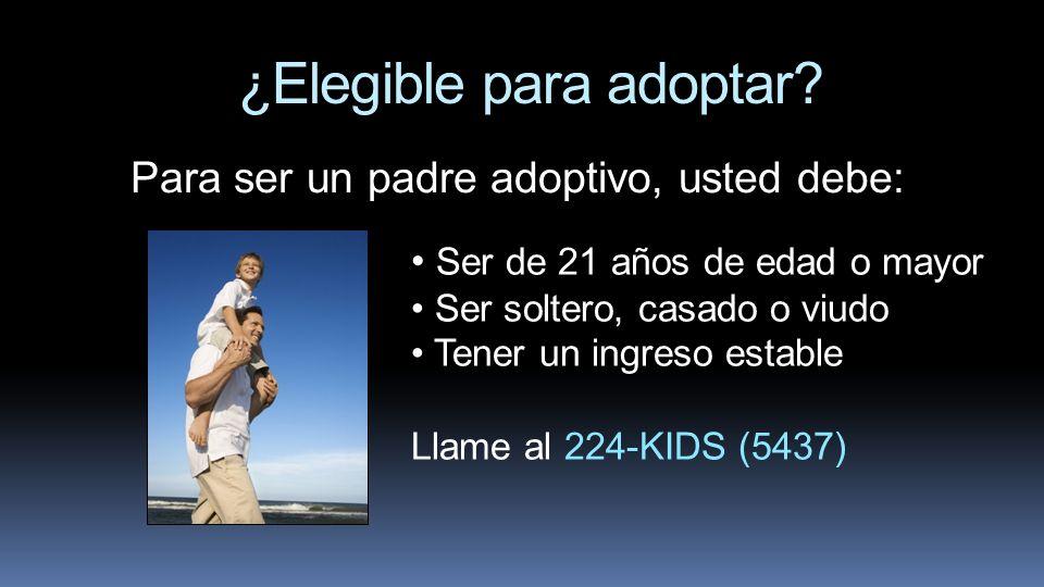 ¿Elegible para adoptar